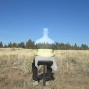 ¿Un hombre casi invisible? ¿Eres capaz de intuir su silueta?